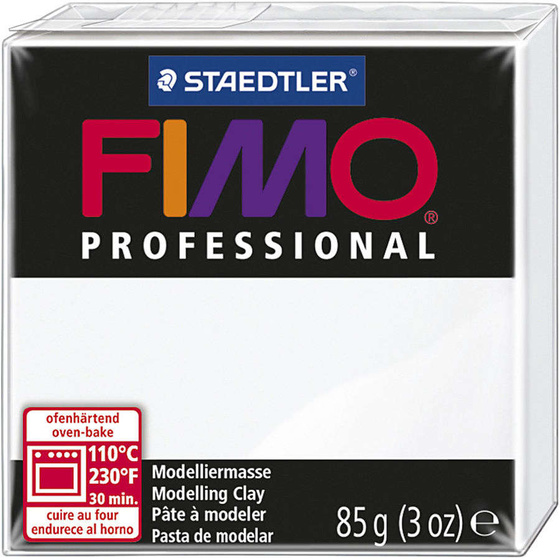 FIMO® Professional Clay, Weiß