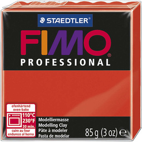 FIMO® Professional Jewellery Clay, Rot