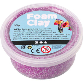 Foam Clay®, Neonlila, 35g
