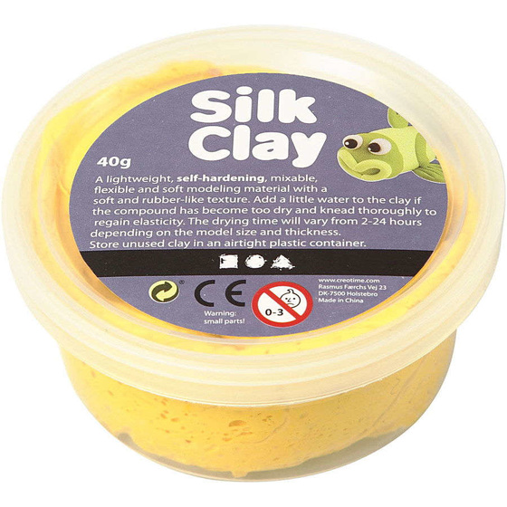Silk Clay®, Gelb