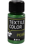Textilfarbe, Brillantgrün, Pearl, 50ml