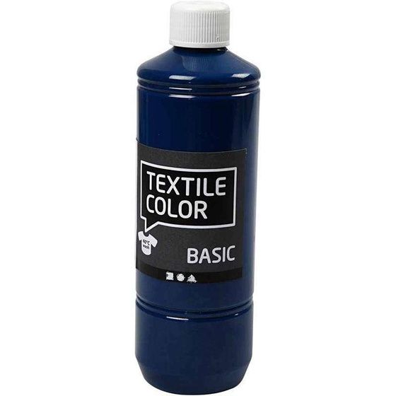 Textilfarbe, Türkisblau, 500ml