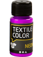 Textilfarbe, Neonlila, 50ml