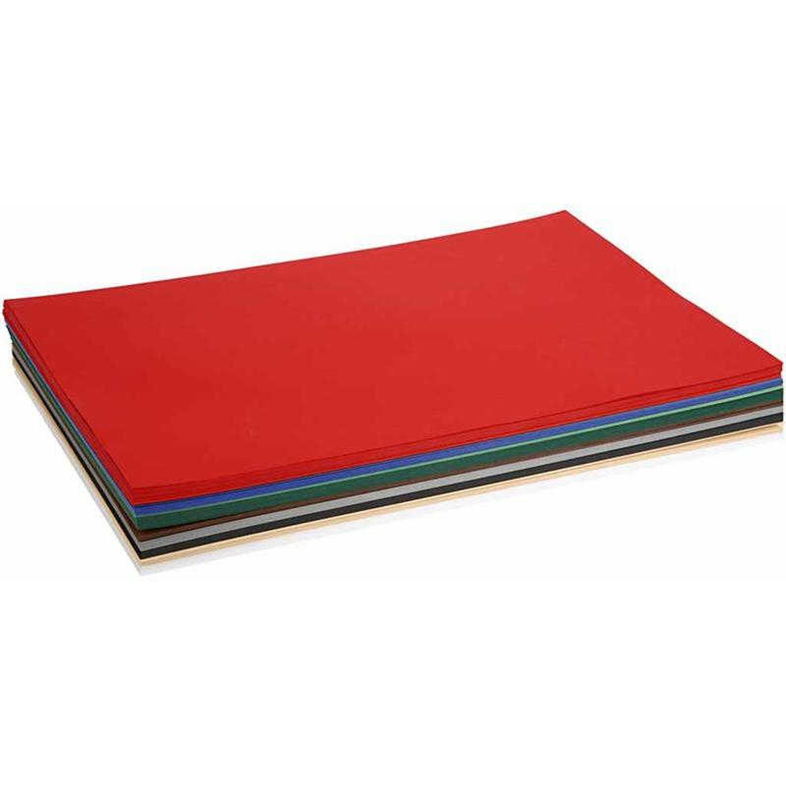 180 g Farbkarton zum Basteln 20Bl A2 420x600 mm Sortierte Farben sort.