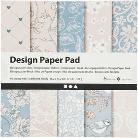 Design-Papier im Block