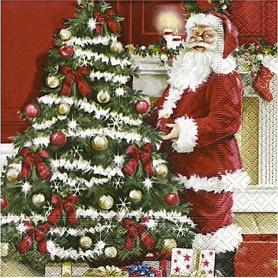 Servietten 33 X 33 Cm Nostalgische Weihnachten