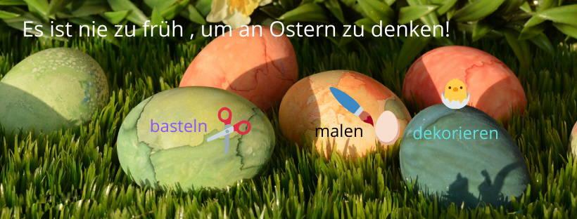 Ostern, schon jetzt mit Suchen anfangen!