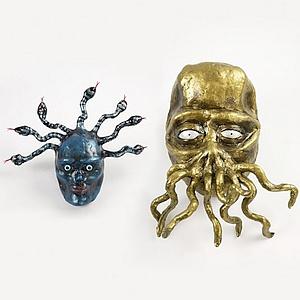 Masken Medusa